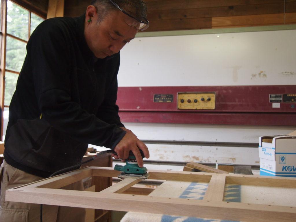 オークヴィレッジの木工職人