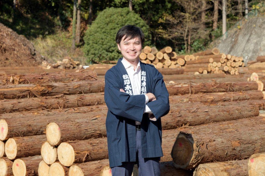 森未来代表の浅野純平さん