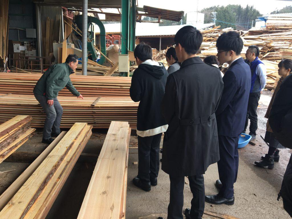 木材加工現場