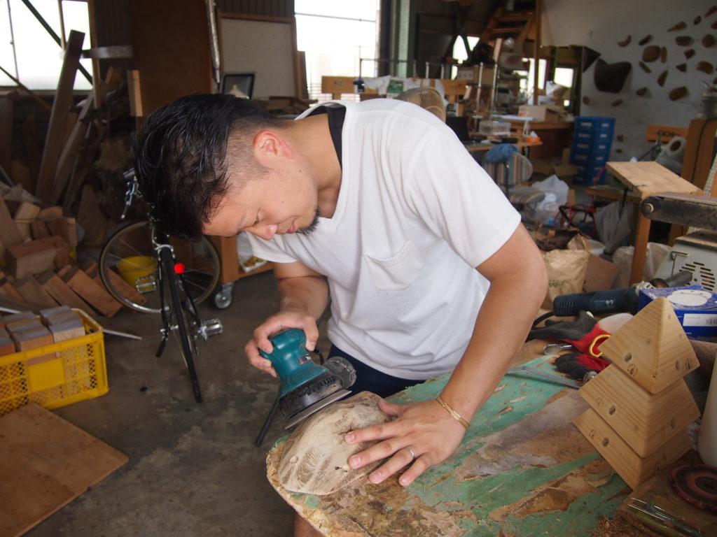 木製ホールド製作