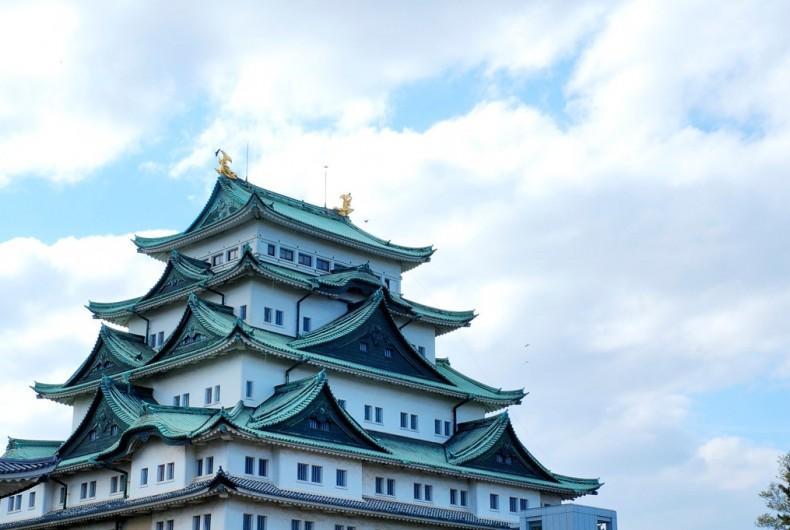 名古屋城と二人の飛騨人