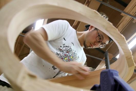 針葉樹の家具作り「studio Jig」