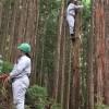 林業を学ぶ高校生たち