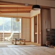 大自然と木の空間でリラックス。レンタル&宿泊施設「飛騨五木の家」
