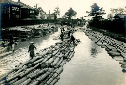 【中・下流編】鉄道やトラックを使わずして、山から海まで木材をどう運んだ?