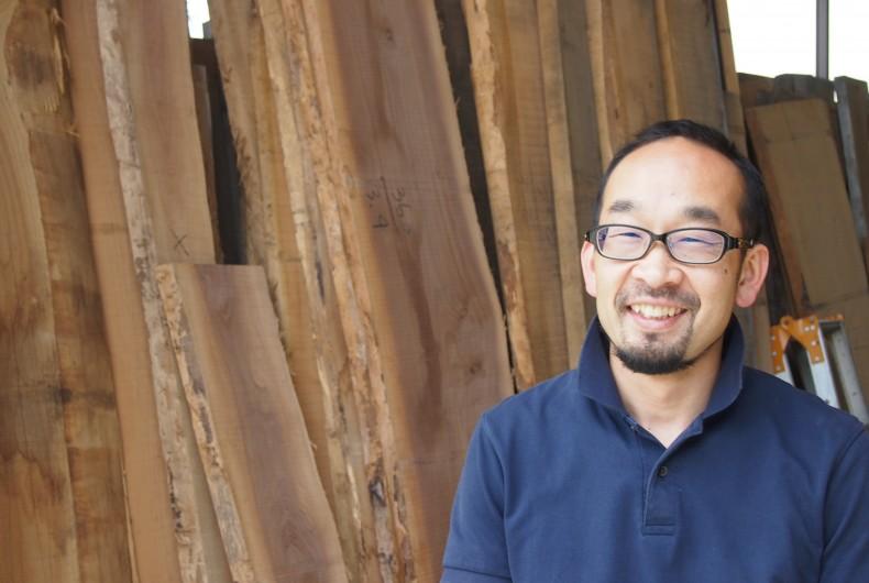 森の資源の循環をまわす一人として、国産広葉樹の木工を極める【ARTS CRAFT JAPAN】(前編)