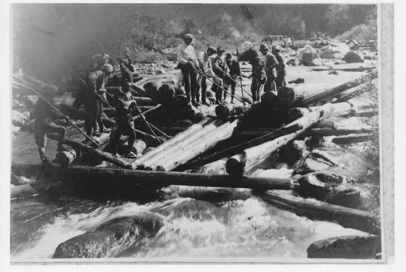 【上流編】鉄道やトラックを使わずして、山から海まで木材をどう運んだ?