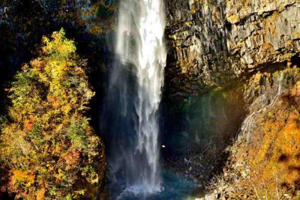 秋の白水の滝