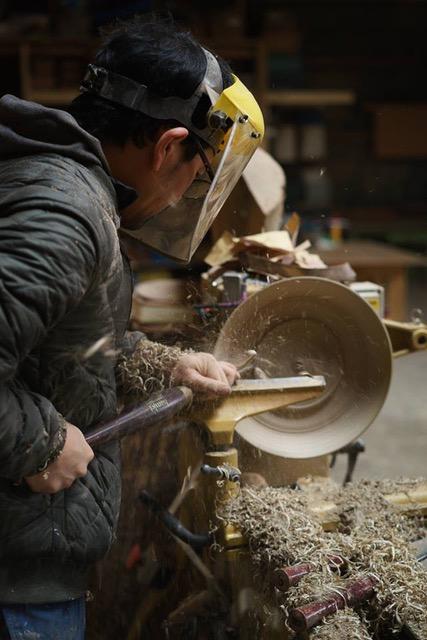 フォレストチャレンジ,吉川和人,木工