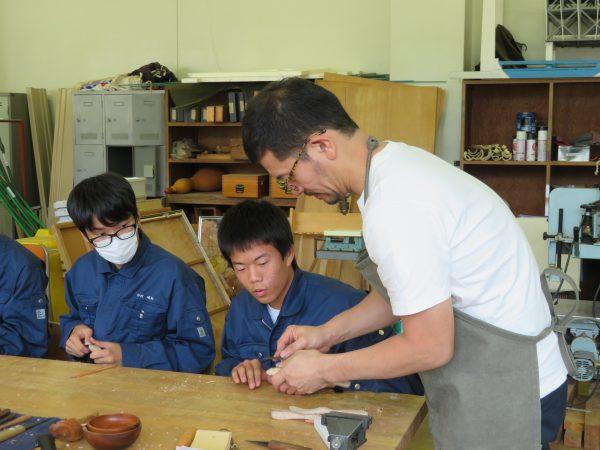フォレストチャレンジ,吉川和人,昴学園高校,木工体験